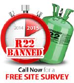 R22 refrigerant no longer available in Portugal