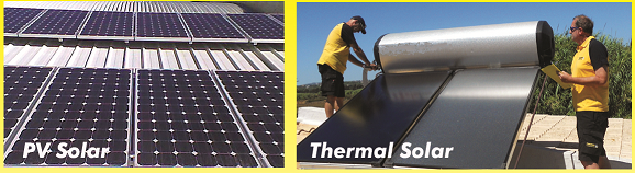 Efficiency of PV against Thermal Panels